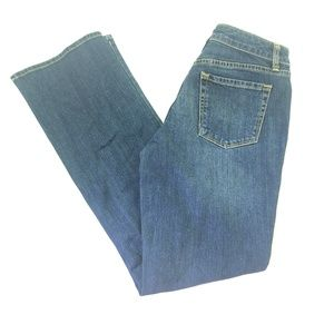 Merona Women Dark Wash Bootcut Jeans Sz 4 R123
